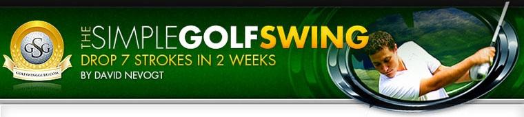[Publi-communiqué] Simple Golf Swing - Le guide pour améliorer votre swing.